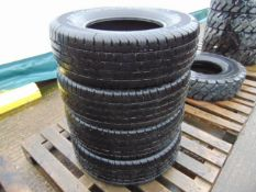 4 x Continental Cross Contact LX 255/70 R16 M and S Tyres Unused