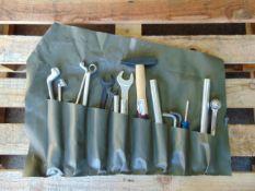 Unissued Land RoverTool Roll c/w Tools