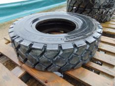 1 x Double Coin 8.25 R 15 REM6 Heavy Duty Industrial Tyre Unused