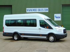 2014 Ford Transit 2.2 TDCi 460E 17 Seat Minibus ONLY 74,813 km!