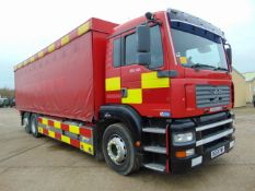 2003 MAN TG-A 6x2 Rear Steer Incident Support Unit ONLY 25,506km!
