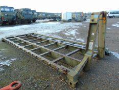 Marshall Engineering 20ft Twist Lock Flat Rack