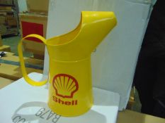 SHELL 2 LITREs OIL CAN- NEW