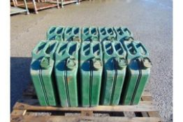 10 x Unissued NATO Issue 20L Jerry Cans