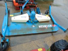 WESSEX CR 18/4 3 POINT LINKAGE MOUNTED MOWER/ TOPPER