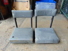 2 x Land Rover FFR Operator / Jump Seats
