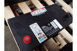 2 X UNISSUED 354-3613 DRY CHARGE 12v 9A.H. BATTERIES