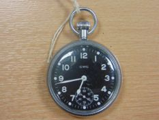 CWC NON LUMINOUS ROYAL NAVY ISSUE WATCH DATED 1977 17 JEWEL MOVEMENT