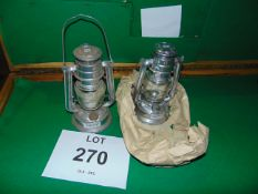 2X CHALWYN TROPICAL HURRICANE LAMPS UNISSUED