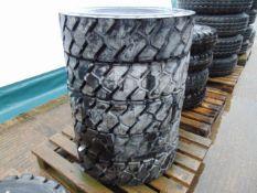 5 x Michelin Stabil'X XZM 8.25 R15 Tyres