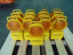 13 x Maxilite Flashing Safety Beacons