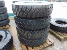 4 x Goodyear G188A 12-00 R20 Tyres on 8 Stud Rims
