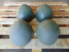 4 x British Army MK 6 Combat Helmets