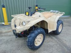 Military Specification Yamaha Grizzly 450 4 x 4 ATV Quad Bike Complete with Winch ONLY 115 HOURS!