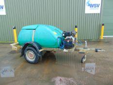 Western Trailer Diesel Pressure Washer Bowser