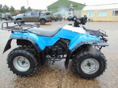 KAWASAKI 4X4 QUAD BIKE Mileage as shown
