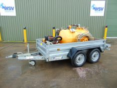 Yanmar Diesel Vacuum Bowser Mounted on Twin Axle Indespension Trailer