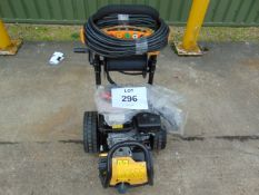 UNUSED 2500 PSI 7HP PRESSURE WASHER C/W LANCE, HOSE , CHEMICAL TANK, ETC