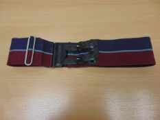 VERY NICE CONDITION ORIGINAL BRITISH ARMY ROYAL SIGNALS STABLE BELT