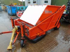 KUBOTA PTO COLLECTOR SWEEPER HYDRAULIC TIP Ideal for paddocks, yards, roads, etc. Little used