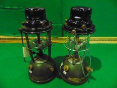 2 x Unissued Vintage British Army Paraffin Tilley Lamps