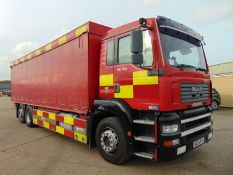 2003 MAN TG-A 6x2 Rear Steer Incident Support Unit ONLY 23,744km!
