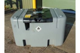 unused SCHMELZER DD400 400L Mobile Diesel Tank c/w 12v Fuel Pump, Nozzle, Hose, etc.
