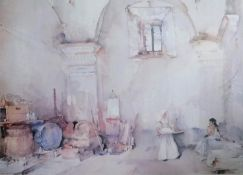 After Sir William Russell Flint, RA (Scottish, 1880-1969), INTERIOR SCENE, limited edition print