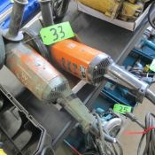 """LOT OF 2 FEIN 7"""" INDUSTREAL ANGLE GRINDERS (IN WEST BLDG)"""