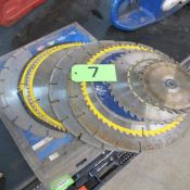 """LOT OF SAW BLADES 6-14"""" (IN WEST BLDG)"""