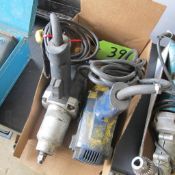 """LOT OF 2 MASTERCRAFT POWER TOOLS (1/2"""" IMPACT WRENCH, 1/2"""" IMPACT WRENCH) (IN WEST BLDG)"""