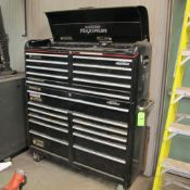 MASTERCRAFT MAXIMUM 19 DRAWER TOOL CHEST INCL CONTENTS AND TOOLS (IN WEST BLDG)