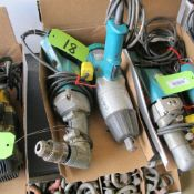 """LOT OF 2 MAKITA POWER TOOLS (6906 3/4"""" IMPACT WRENCH, 6300 1/2"""" ANGLE DRILL) (IN WEST BLDG)"""