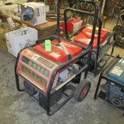 MILWAUKEE 6000W GAS POWERED GENERATOR, FULL GFCI PROTECTION 4960-24 (UPPER TOOL CRIB)