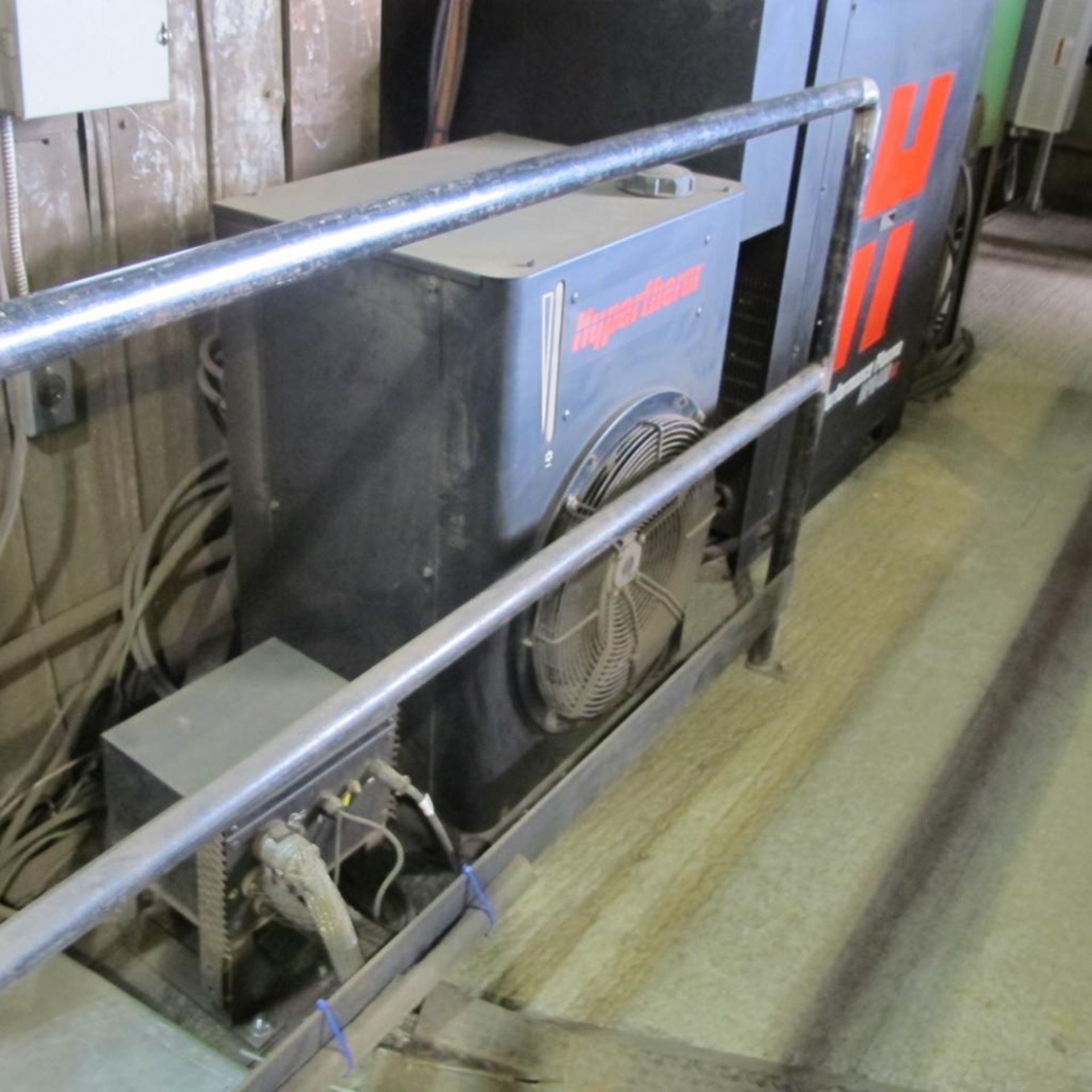 "Lot 403 - SECTOR CNC 9'4"" x 21'6"" PLASMA CUTTING TABLE, MODEL PROSTAR PRS-200, BURNY MODEL PHANTOM CNC CONTROL"