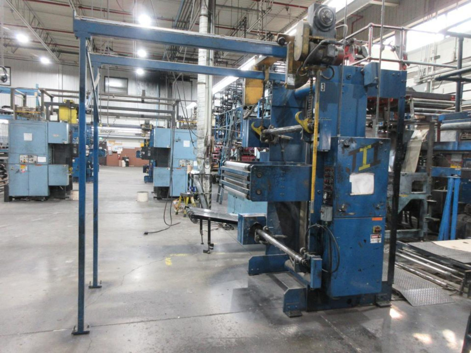 "Complete Goss/Ventura 22.75"" cut off 50 unit web offset press featuring: Ventura 30 4 high (0), Vent - Image 41 of 58"
