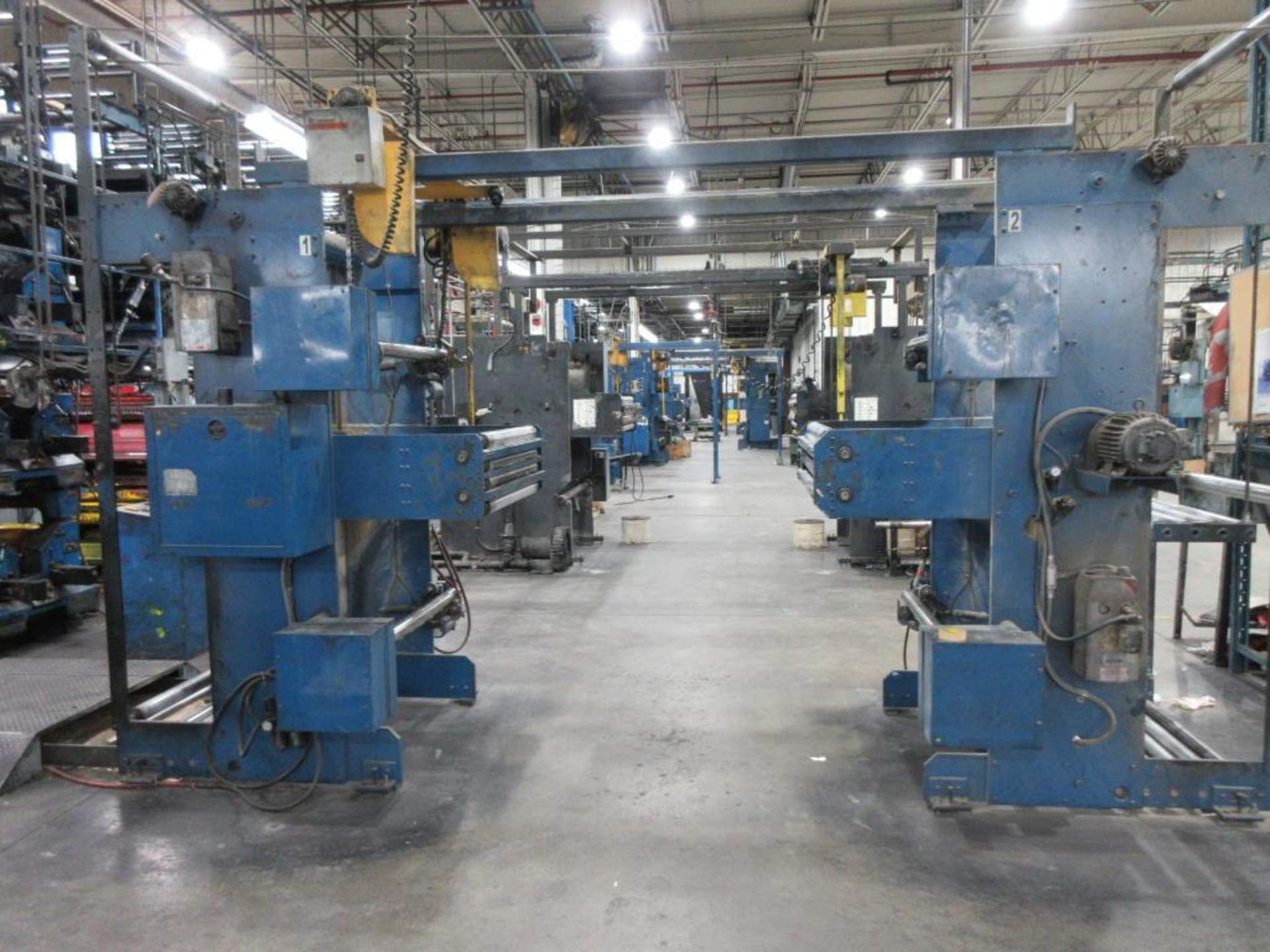 "Complete Goss/Ventura 22.75"" cut off 50 unit web offset press featuring: Ventura 30 4 high (0), Vent - Image 32 of 58"