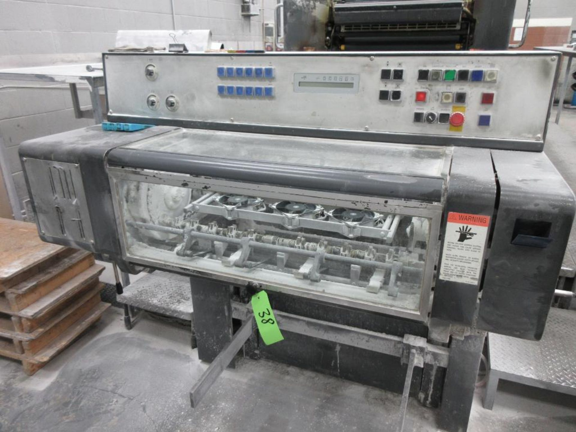 HEIDELBERG MOSP-H 19 x 25_, 6 color sheet fed offset perfecting press with high pile delivery, sn 61 - Image 8 of 10