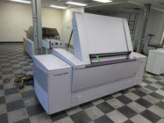 """2006 Kodak Trendsetter News plate setter, model TSM, square spot, 29"""" x 41"""" plate capacity, sn NG002"""
