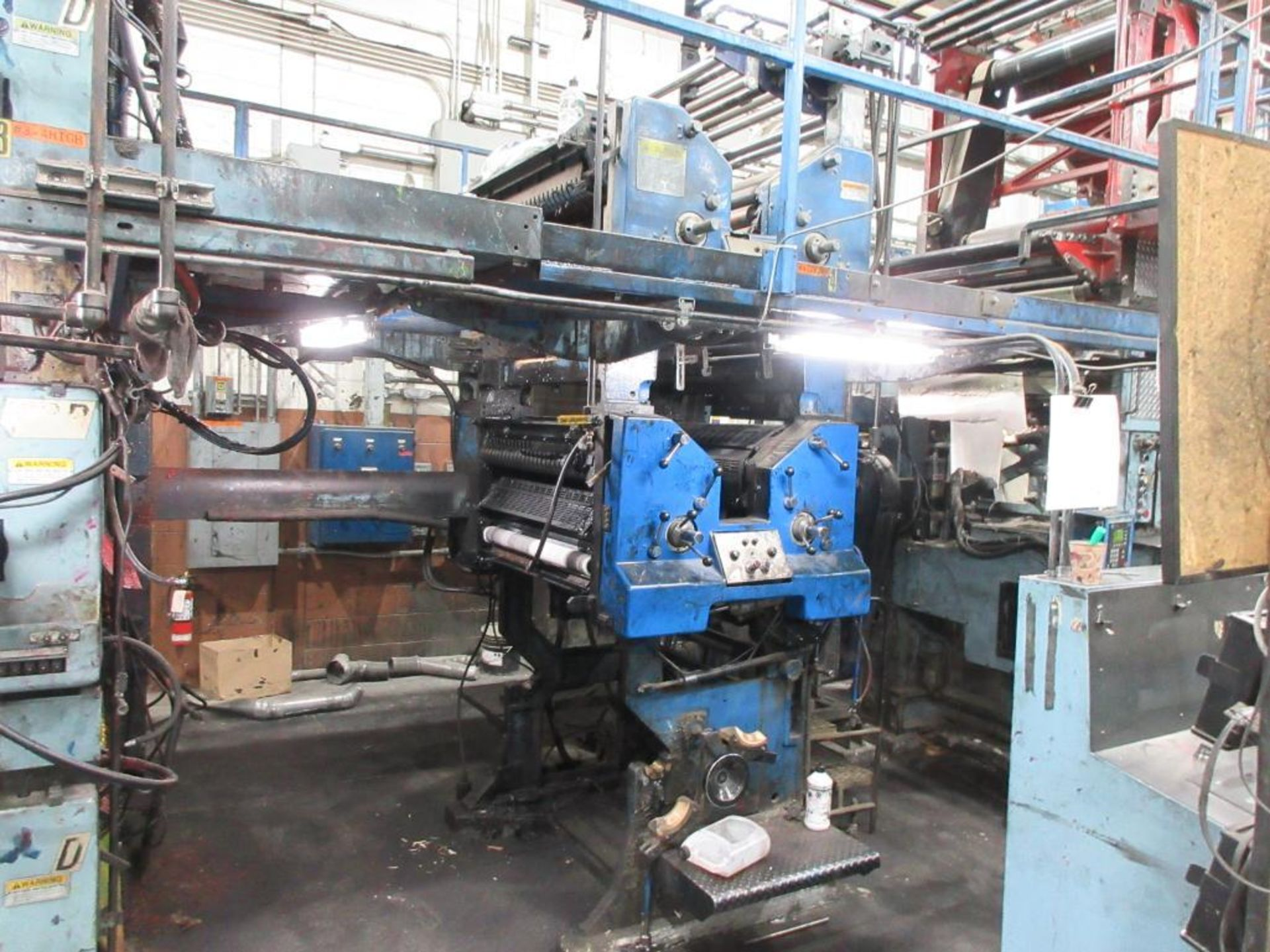 "Complete Goss/Ventura 22.75"" cut off 50 unit web offset press featuring: Ventura 30 4 high (0), Vent - Image 10 of 58"