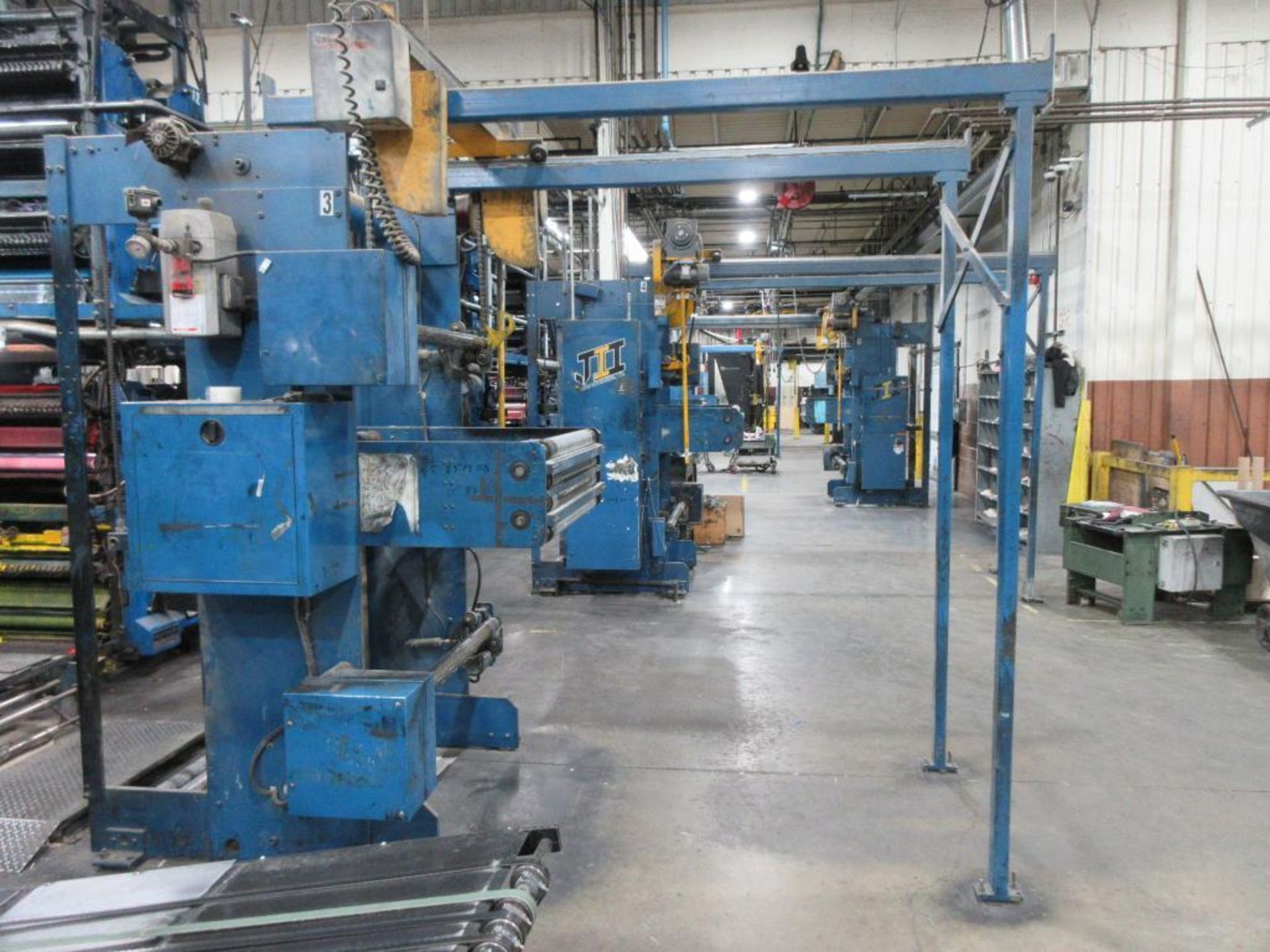 "Complete Goss/Ventura 22.75"" cut off 50 unit web offset press featuring: Ventura 30 4 high (0), Vent - Image 40 of 58"