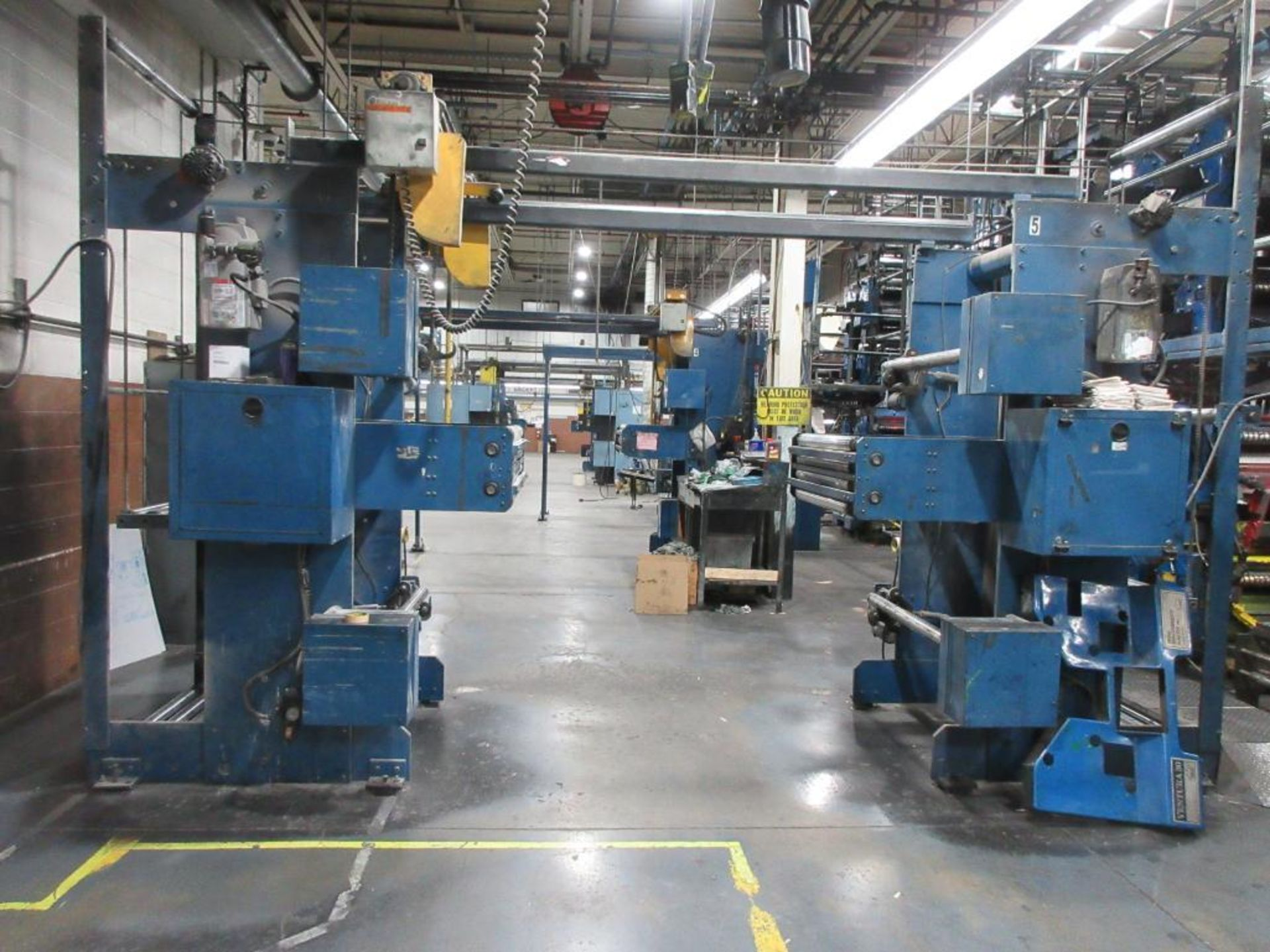 "Complete Goss/Ventura 22.75"" cut off 50 unit web offset press featuring: Ventura 30 4 high (0), Vent - Image 47 of 58"
