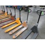 """Pallet Jack, 5,500 lb capacity, 42"""" forks"""