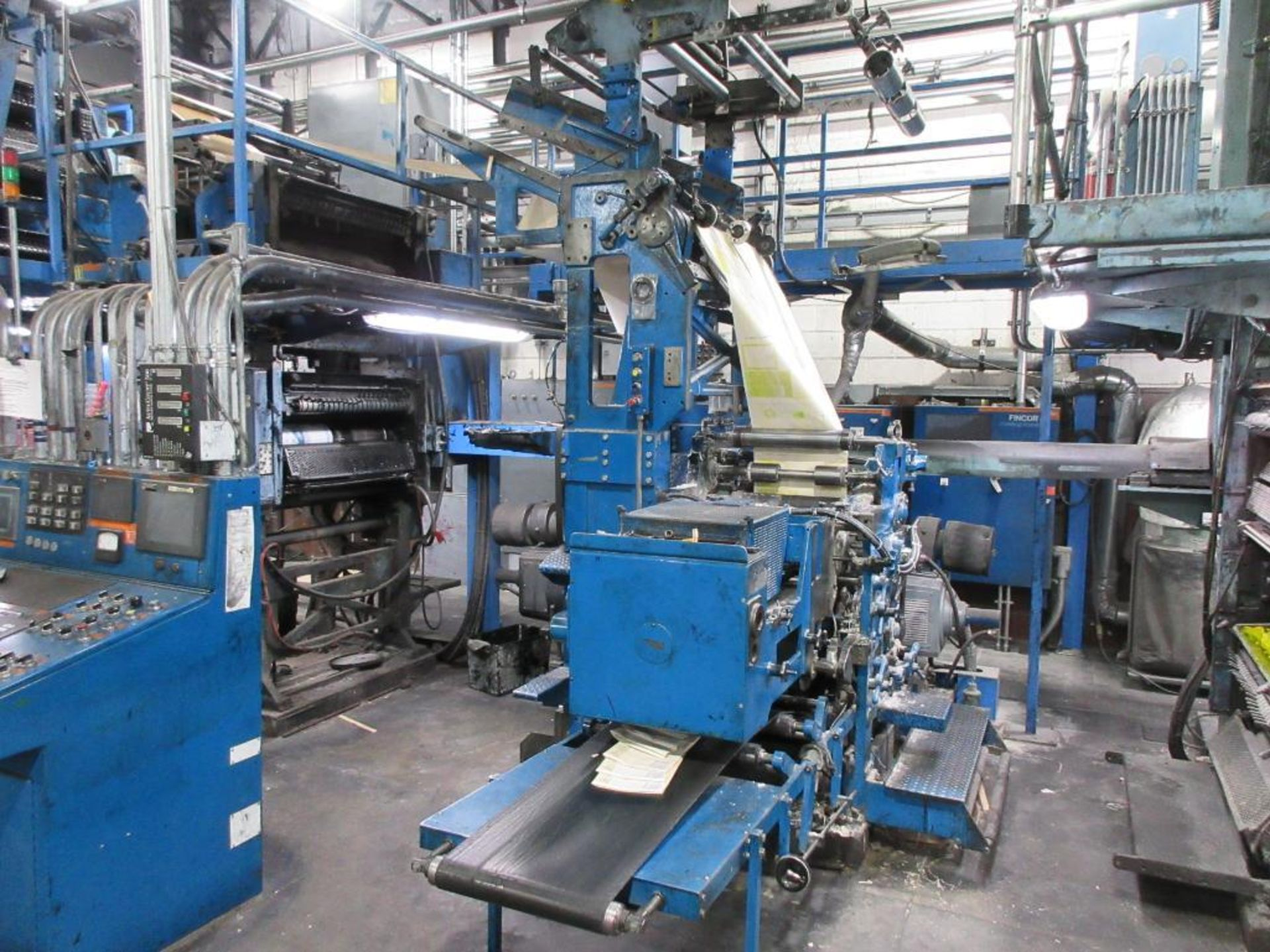 "Complete Goss/Ventura 22.75"" cut off 50 unit web offset press featuring: Ventura 30 4 high (0), Vent - Image 23 of 58"