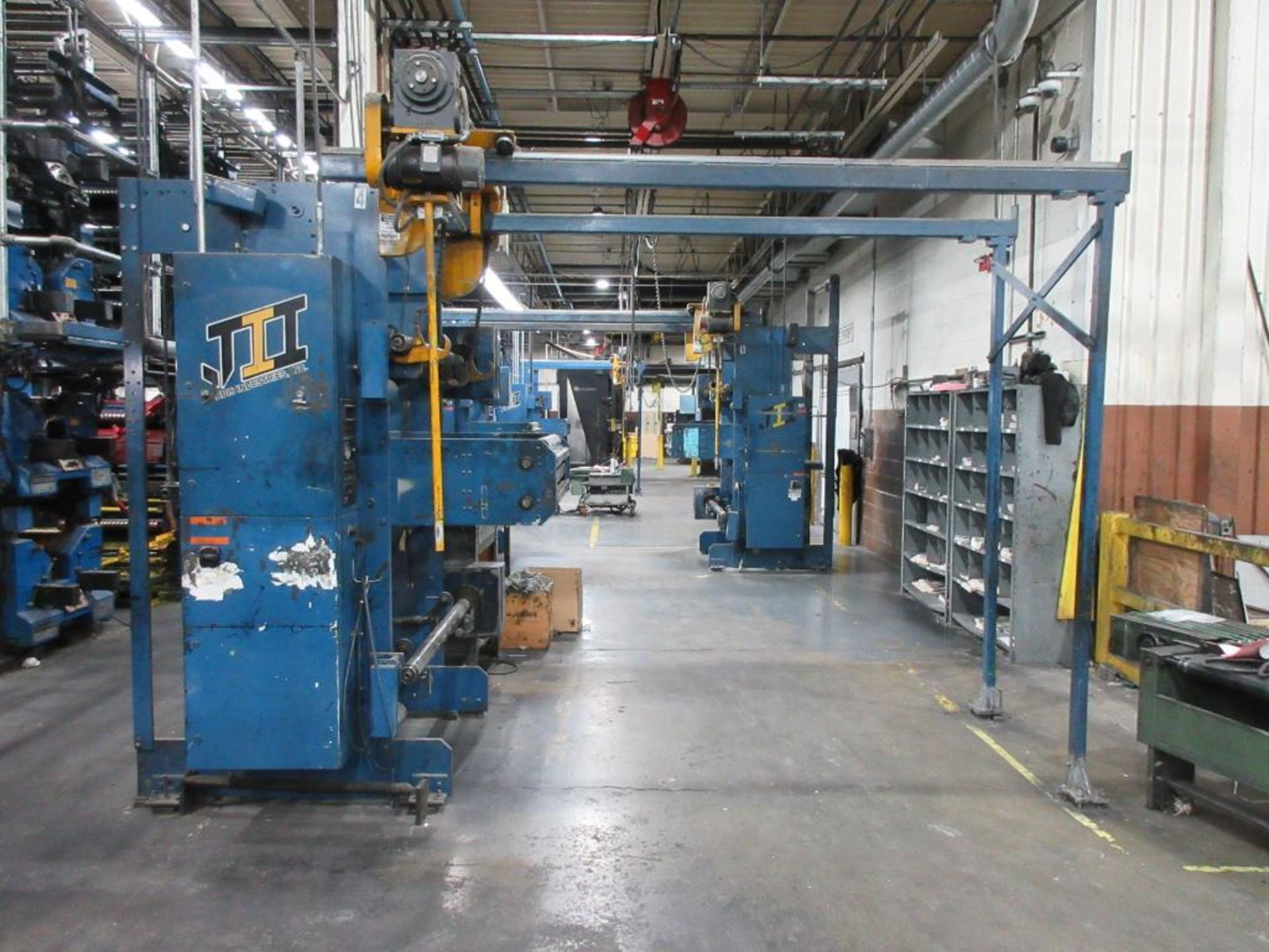 "Complete Goss/Ventura 22.75"" cut off 50 unit web offset press featuring: Ventura 30 4 high (0), Vent - Image 43 of 58"