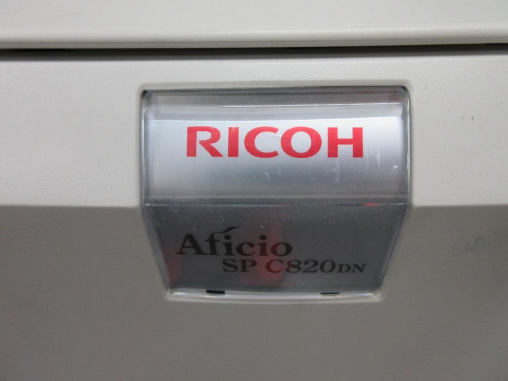 Ricoh Aficio SP C820DN colour printer, includes colour print cartridges - Image 3 of 4