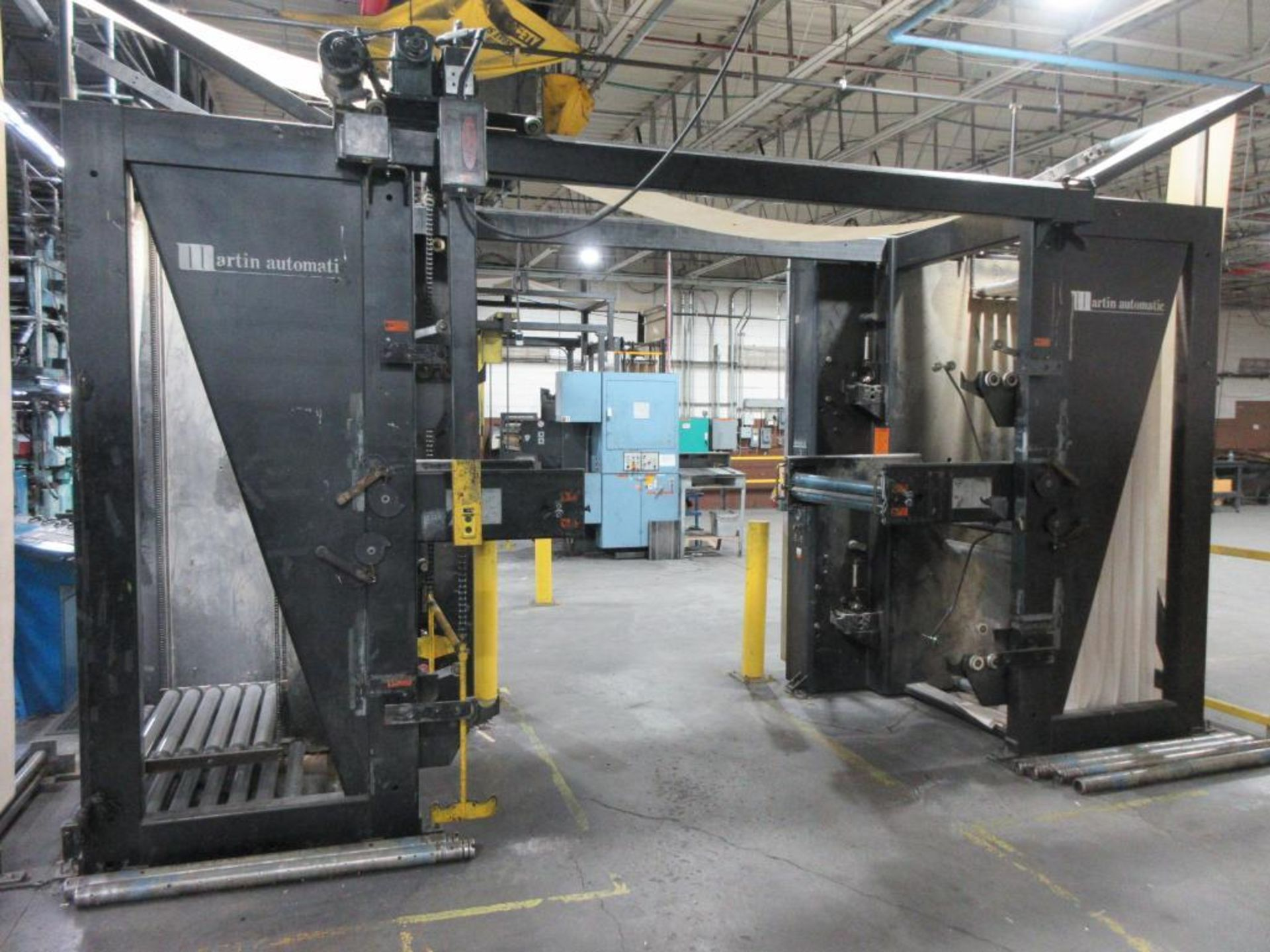 "Complete Goss/Ventura 22.75"" cut off 50 unit web offset press featuring: Ventura 30 4 high (0), Vent - Image 52 of 58"