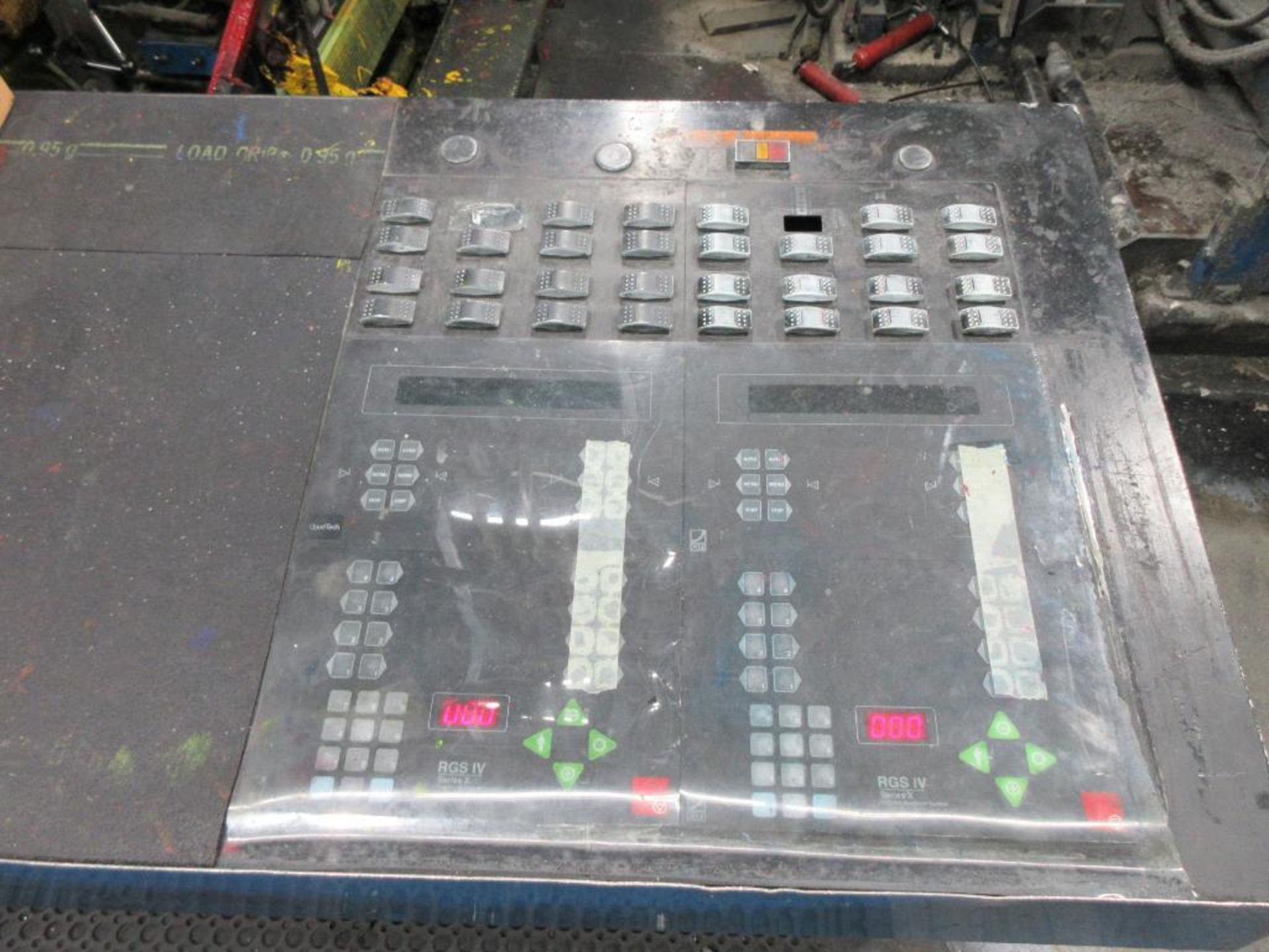 "Complete Goss/Ventura 22.75"" cut off 50 unit web offset press featuring: Ventura 30 4 high (0), Vent - Image 30 of 58"