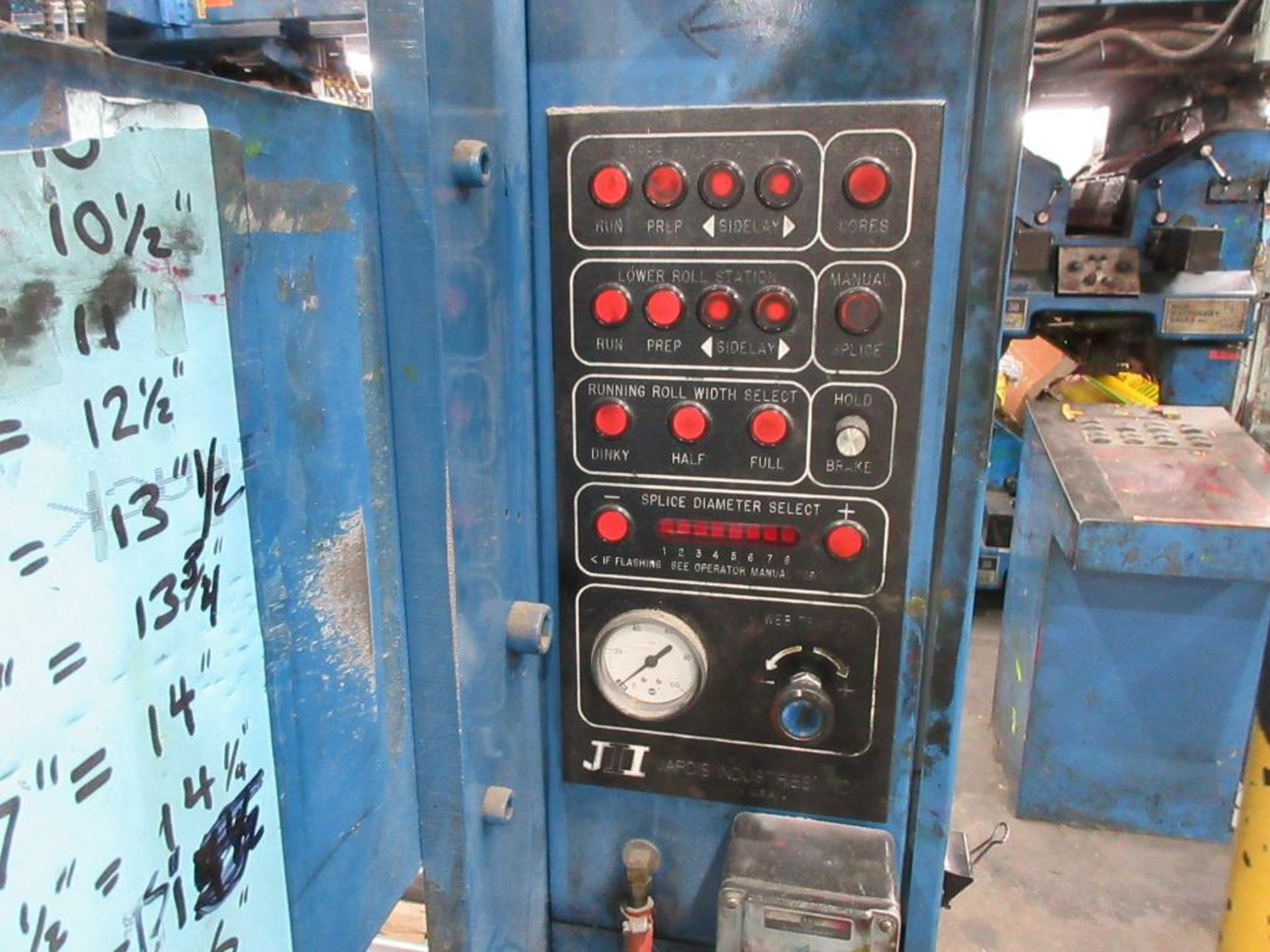 "Complete Goss/Ventura 22.75"" cut off 50 unit web offset press featuring: Ventura 30 4 high (0), Vent - Image 35 of 58"