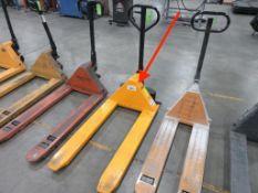 """Pallet Jack, 2,200 lb capacity, 45"""" forks"""